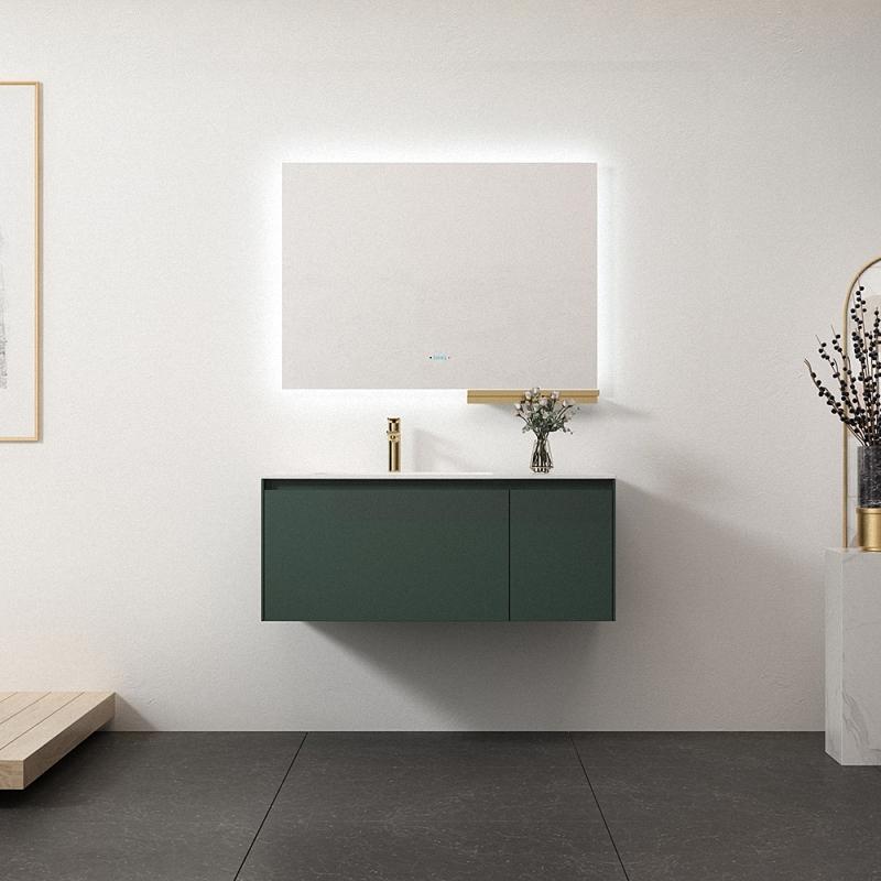 SHKL new launch green color 40 inch bathroom vanity