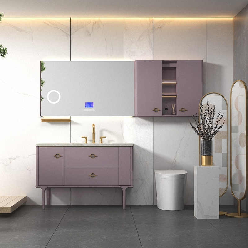 New products plywood bathroom vanity Enjoy a pleasant time, achieve a leisurely life.