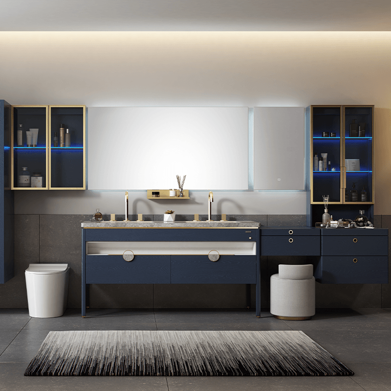 With its combination of style and function, provide customized bathroom space only for you